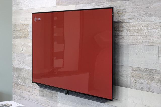 TV Installation with hidden cords