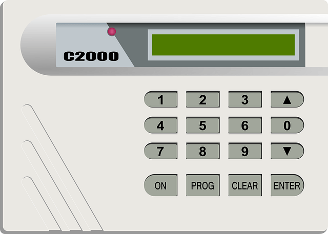 Security Alarm Keypad