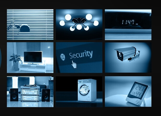 Security monitoring by the TV installation crew at The Wire Man
